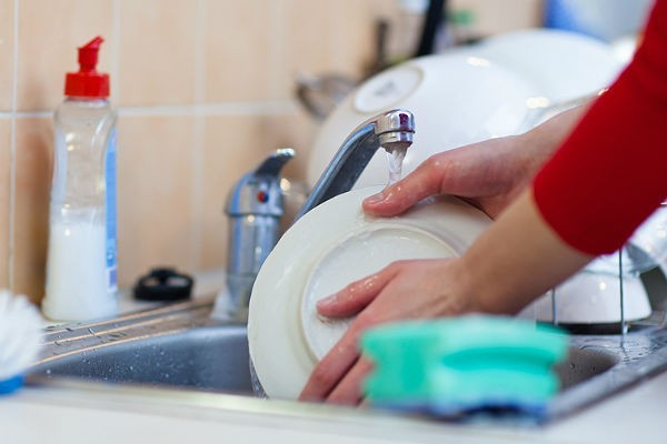 Рецепт мытья посуды