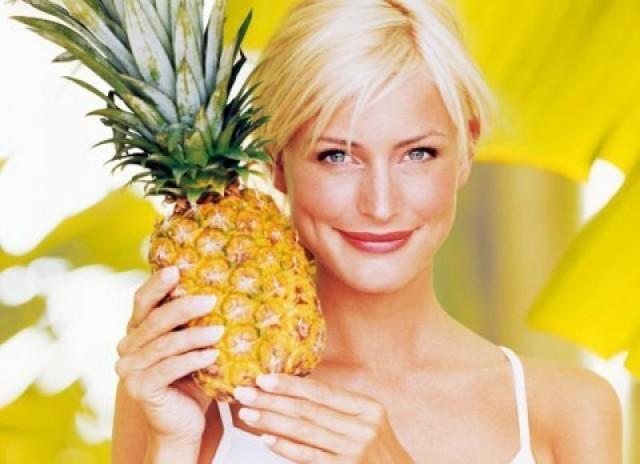 Как похудеть с помощью ананаса