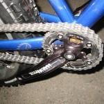 Как правильно смазать велосипедную цепь?