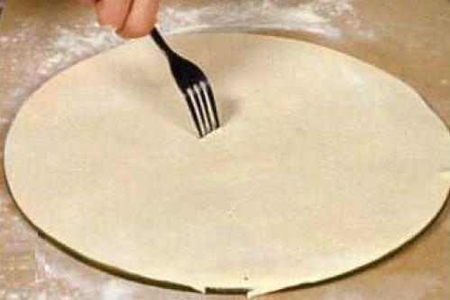 тонкий корж для пиццы