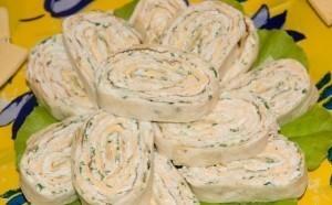 куриные рулеты с плавленым сыром
