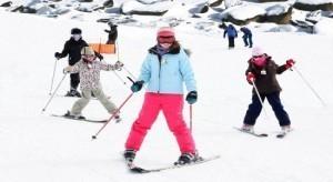 кататься на горных лыжах.