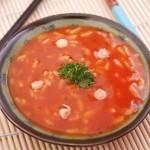 Рецепт томатного супа с рисом