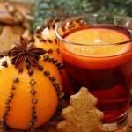 Новогоднее украшение из апельсина