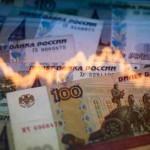 Российская валюта снова падает