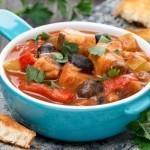 Тушеная щука с овощами, рецепт