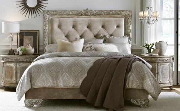 Стиль шато в интерьере спальни