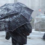 В выходную пятницу в столице ожидаются дождь и мокрый снег