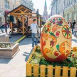Пасха в Москве: перекрытия улиц, бесплатные автобусы и места гуляний