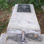 Вандалы осквернили могилы героев Великой Отечественной войны на Ваганьковском кладбище