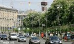 В центре Киева ограничили движение транспорта: названа причина