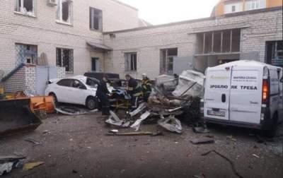 В Кременчуге прогремел взрыв