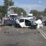 Масштабное ДТП в Черновцах: пострадали 5 автомобилей