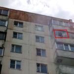 В Одесской области девушка выпала из окна пятиэтажки