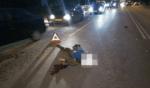 В Киеве под колесами грузовика погиб пешеход