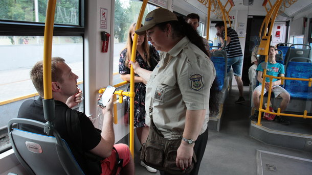 расстроился из-за поломки скоростного трамвая