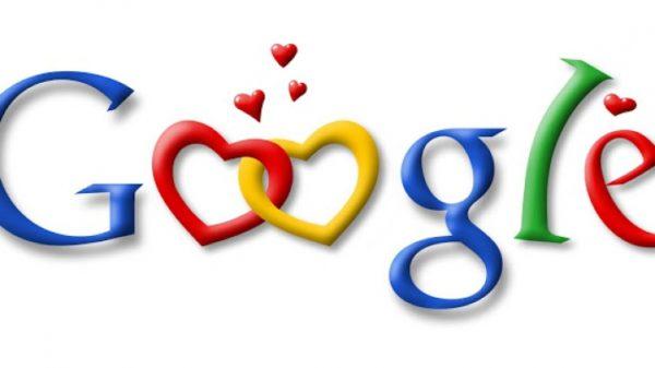 Google ко Дню святого Валентина
