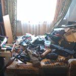 В Киеве мужчина хранил дома арсенал оружия