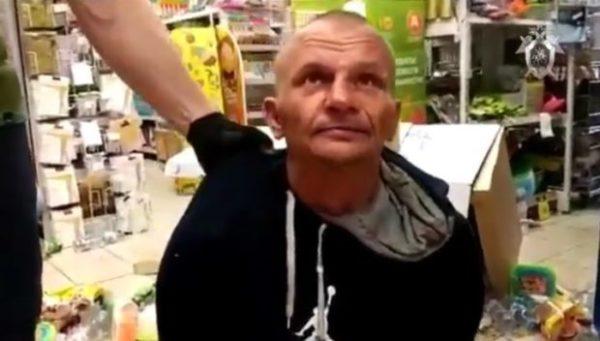 Мужчина, захвативший заложницу в магазине «Дикси»