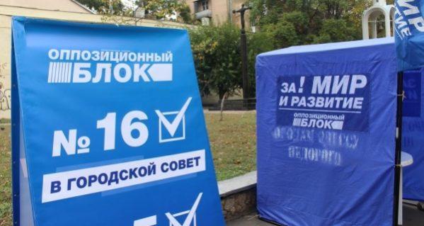 Партия Оппозиционный блок