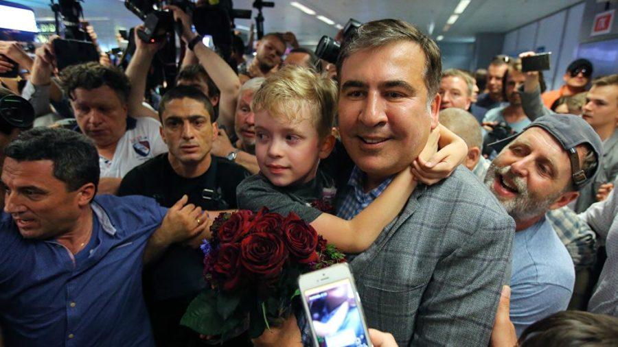 бывший глава Одесской облгосадминистрации Михаил Саакашвили
