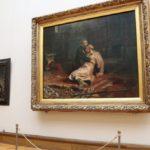 Суд арестовал мужчину, повредившего картину в Третьяковской галерее