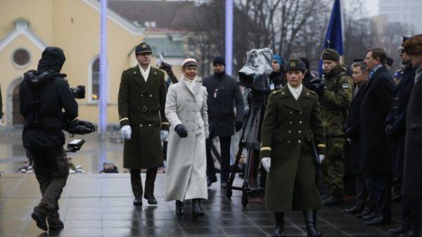 министр обороны Эстонии