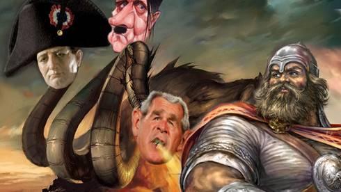 Унижение Великой России Ужасным Западом
