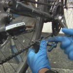Как поставить цепь на скоростной велосипед?