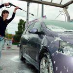 Как мыть машину на мойке?